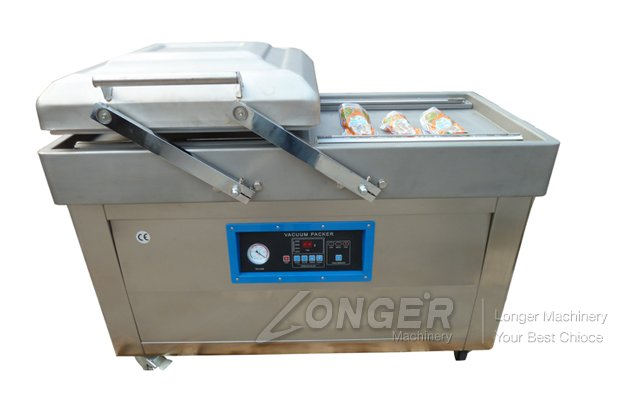 vacuum bagging machine