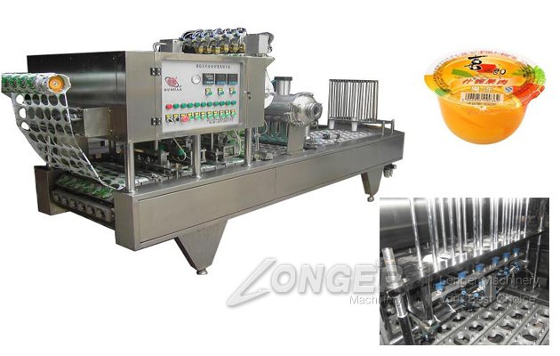 Cup Jelly Packing Machine Price Yogurt Cup Filling Sealing